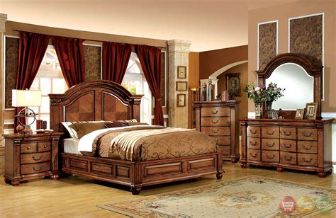 antique furniture bedroom sets bellagrand luxurious antique tobacco oak bedroom set with