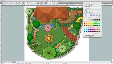 garden layout software landscape design software draw landscape deck and patio