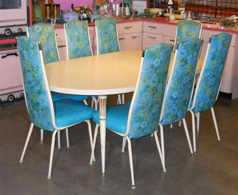 turquoise dining set retro vegas tables sold