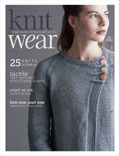knit wear magazine subscription knit wear fall 2012 knit wear blogs knitting daily