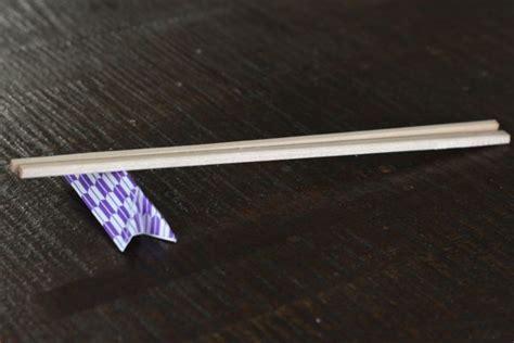 chopstick rest origami origami chopstick rest