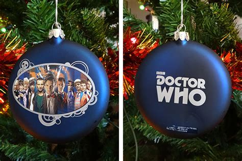 dr who tree decorations doctor who tree decorations a closer look merchandise