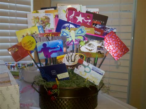 how to make a gift card basket giftidea heartandtart