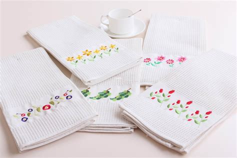kitchen towel designs cozy and chic machine embroidery designs for kitchen