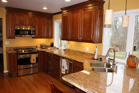 paint colors for kitchen with wood cabinets stirn contracting celebrates five years as one of