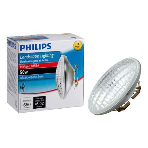 philips landscape light bulbs philips 50 watt 12 volt halogen par36 landscape lighting