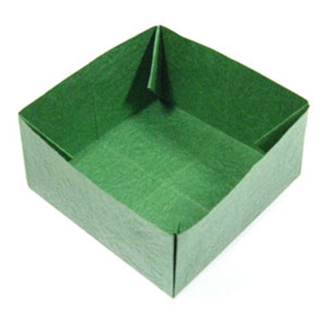 how to make a big origami box how to make a large square origami box page 1