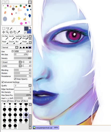 paint tool sai pack paint tool sai brushes lunalapine and brush settings for