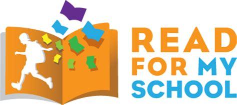 read school read for my school reading agency