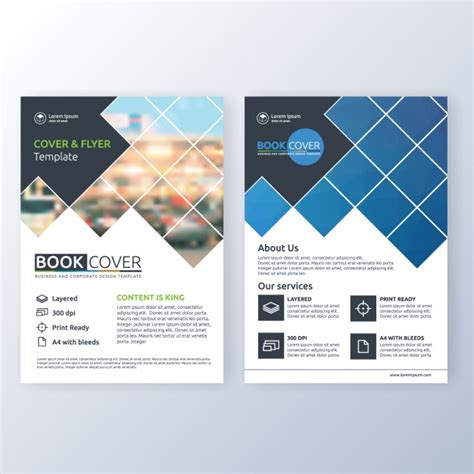 flyer template free business brochure template vector free