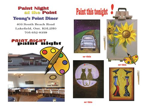 paint nite brton upcoming events paint at the point