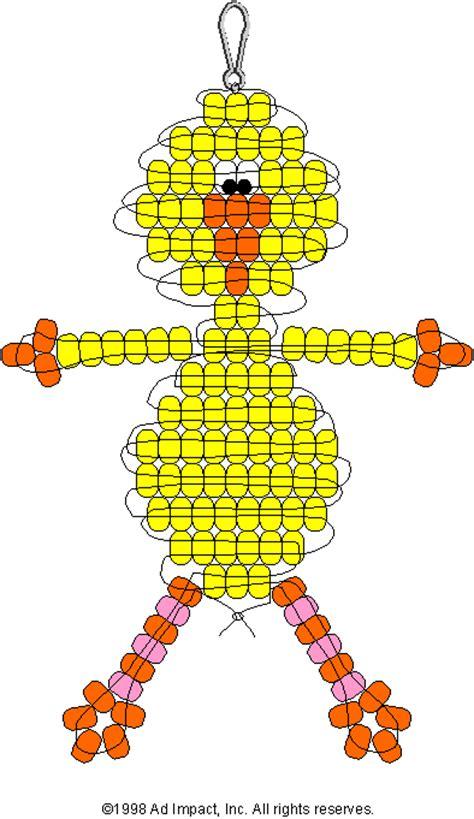 pony bead pattern yellow bird pony bead pattern