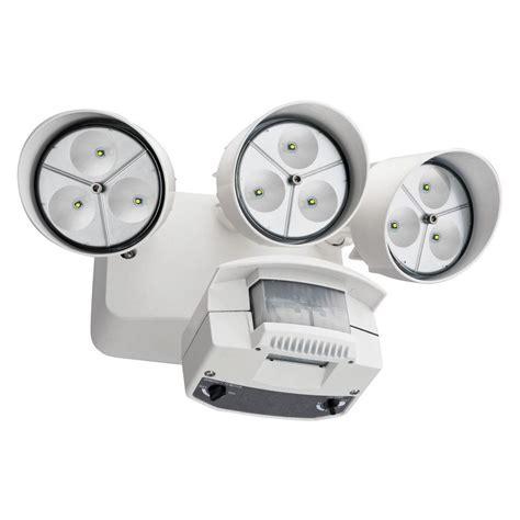 white motion sensor outdoor light lithonia lighting white motion sensor outdoor flood light