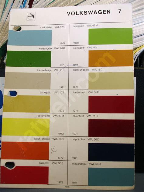 paint colors for vw beetle vw paint colors mikey s domain