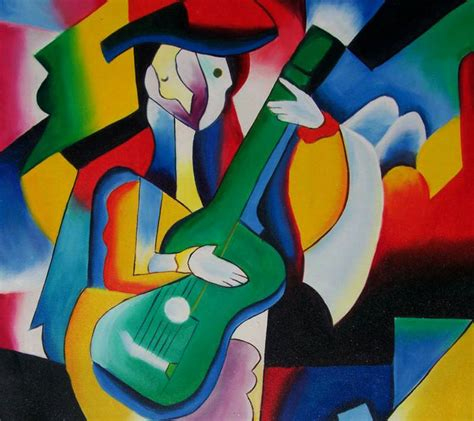 picasso paintings guitar ben houston visual culture 2 summary cubism and futurism