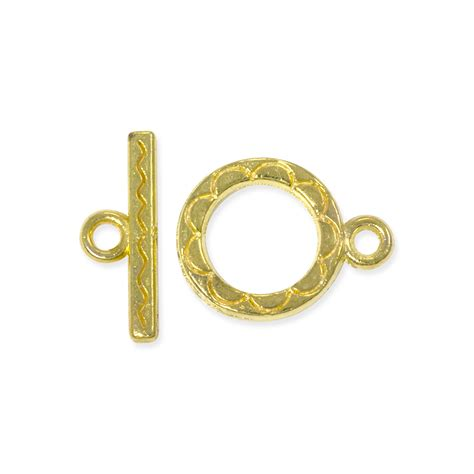 toggle clasps for jewelry clasp toggle 12mm base metal gold plated jewelry