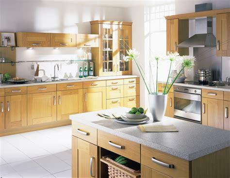 oak kitchen designs light oak kitchen cabinet pictures decosee
