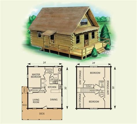 small log cabins floor plans free small cabin plans