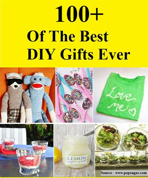 best gifts 100 100 of the best diy gifts home and tips