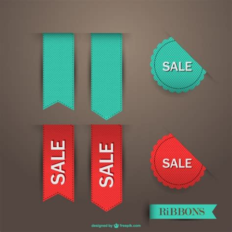 ribbon for sale sale ribbon vector vector free