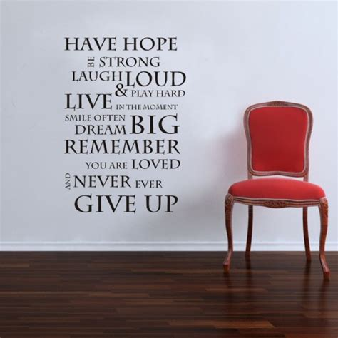 quotes wall sticker inspirational wall sticker quote saying wall