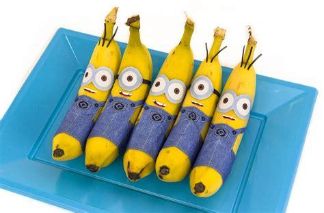 banana craft for banana minions free printable minion food