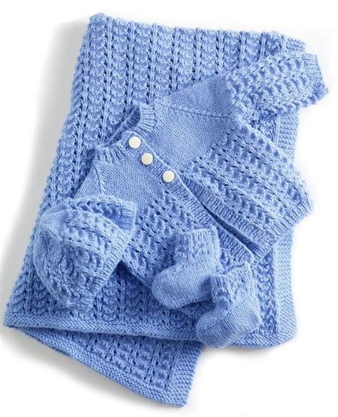 patterns uk knit this adorable baby layette the spinners husband