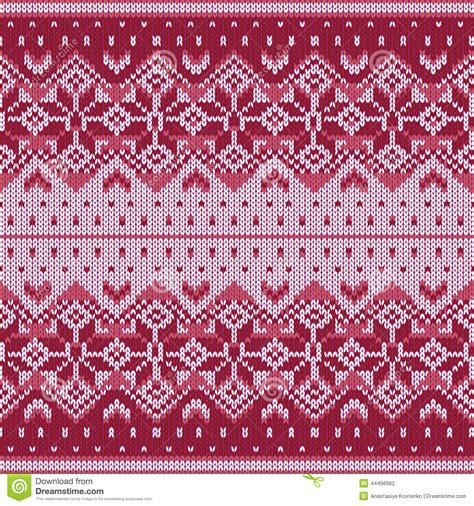 knit snowflake ornament pattern knitting pattern stock vector image 44496962