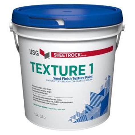 home depot paint textures sheetrock brand 128 oz wall and ceiling texture paint