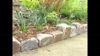 rocks for garden edging garden ideas garden edging ideas