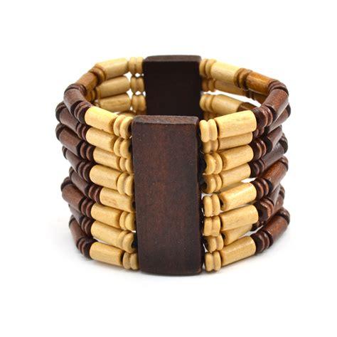 wood bracelet fashion wooden elastic stretch wood bracelet bangle