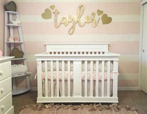 gold nursery decor best 25 pink gold nursery ideas on pink gold