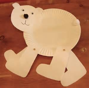 polar paper plate craft polar crafts fragile earth