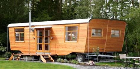 beautiful double wide tiny house w additional slide out