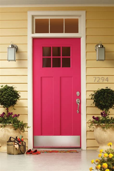 home depot front door paint colors 26 bold front door ideas in bright colors shelterness