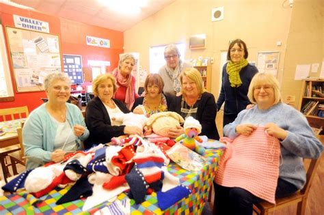 knitting clubs stoke heath knitting saved thanks to charitable