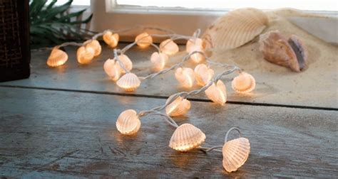 how to make string lights how to make seashell string lights