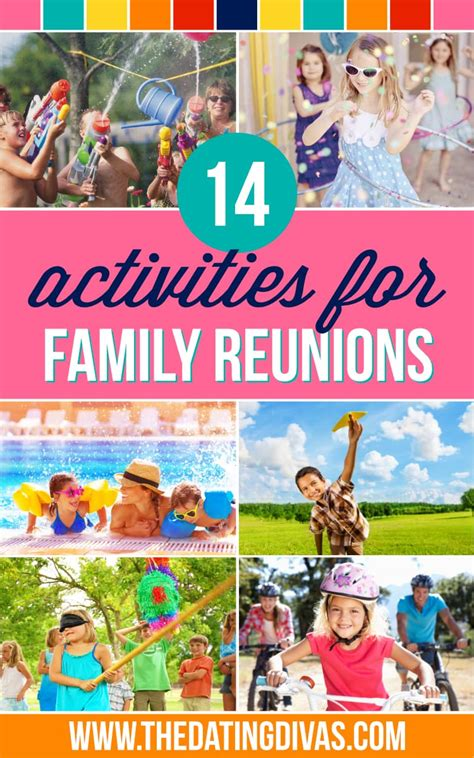 family reunion crafts for 50 unique family reunion activities