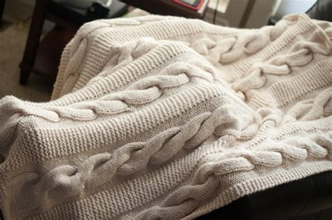 cable knit throw pattern free cable knit throw thimbleanna