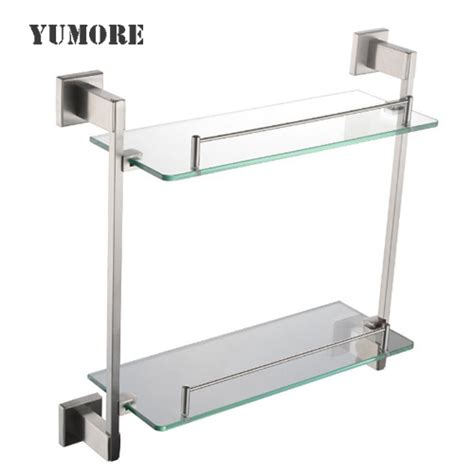 glass shelving bathroom bathroom shelf bathroom glass shelves shower shelves