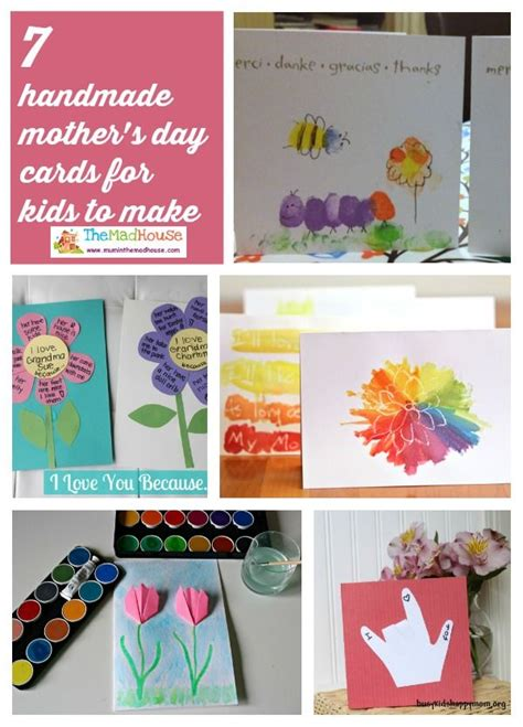 mothers day cards toddlers can make mothers day cards for to make