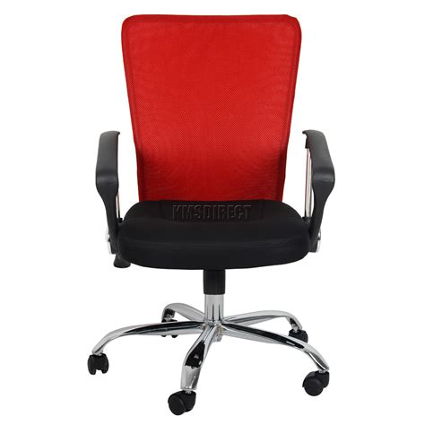mesh swivel chair foxhunter computer executive office desk chair mesh fabric