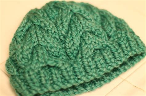 loops and threads knit cozy cabled hat using loops and threads cozy wool yarn
