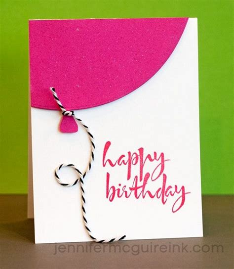 how to make a handmade card for birthday handmade birthday cards pink lover