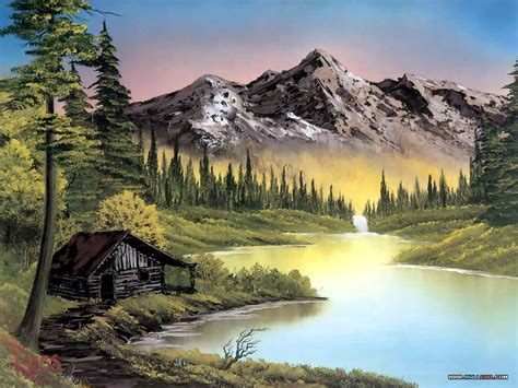 bob ross paintings mountains bob ross paintings landscapes