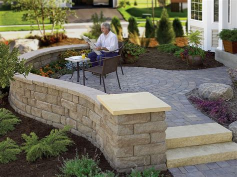 front yard patio landscaping gardening ideas
