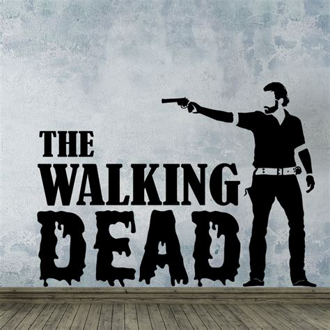 wall decal best 20 the walking dead wall decals dead stickers walking dead stickers walking