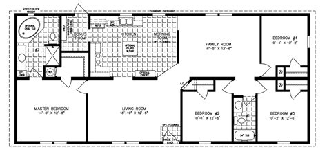5 bedroom mobile homes floor plans 5 bedroom mobile home floor plans florida