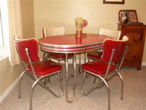 retro kitchen tables retro kitchen table and chair set dinette dining