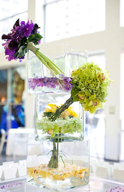 purple and yellow wedding centerpieces museum worthy floral wedding centerpieces